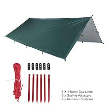 Tarp Canopy Kits by Onetigris Outdoor Camping Kits Waterproof Hammock Camping Tarp