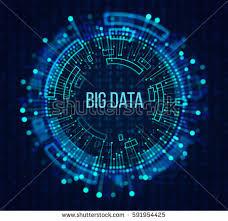 bid data big data visualization abstract background dots illustration libre