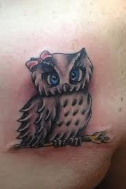 Owl Shoulder - 40 owl design ideas