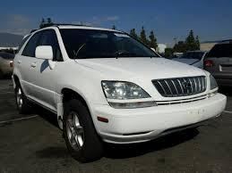 lexus rx 300 salvage lexus rx300 for sale at copart auto auction autobidmaster