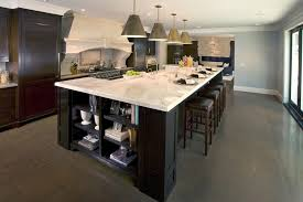 split level kitchen island brilliant large island kitchen traditional with leather bar stools