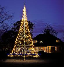 flagpole tree lighting 6 m 20 ft