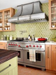Kitchen Backsplash Designs Photo Gallery Kitchen Glass Tile Backsplash Ideas Pictures Tips From Hgtv Green