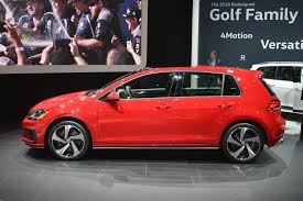 u s spec 2018 volkswagen golf revealed ahead of new york motor