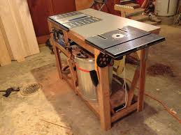 table saw station plans mobile table saw station by dinger lumberjocks com woodworking