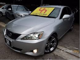 2006 lexus is250 for sale by owner lexus is250 2006 2 5 in kuala lumpur automatic sedan silver for rm