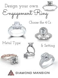 design an engagement ring design your own engagement ring with diamond mansion