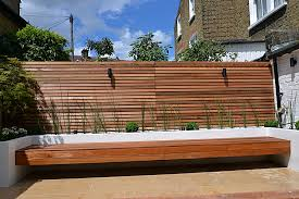 Raised Garden Bed With Bench Seating Garden Design Garden Design With Garden Screen Solution For