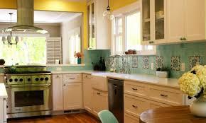 grey and yellow kitchen decor round white modern glass chandelier