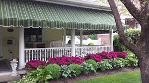 Awning Sunbrella Porch Awnings Kreider U0027s Canvas Service Inc