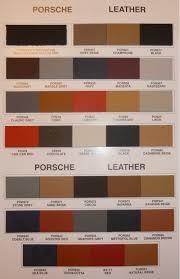 interior color code info again rennlist porsche discussion forums