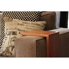 Sofa Arm Table by Custom Couch Arm Table Premium Hydrowood Blackwood The Block Shop