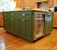kitchen island with refrigerator wonderful imparting grace kitchen island makeover refrigerator