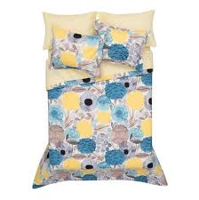 yellow and white duvet cover home design ideas