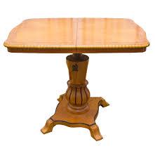 biedermeier style pedestal dining room table dining room table