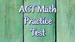 best free act math practice problems youtube