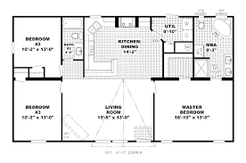 ranch floor plans open concept ranch house plans with open floor plan corglife