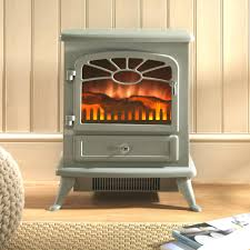 best electric fireplace stove heater redstone reviews cream