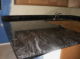 Black Subway Tile Kitchen Backsplash Granite Countertop Light Maple Cabinets With Granite Black