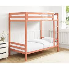 Bunk Bed Furniture Store Bentley Metal Bunk Bed Coral 497 99