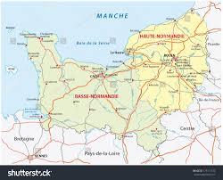Utah Road Map by Normandy Road Map Stock Vector 175171733 Shutterstock
