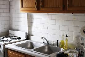 wallpaper for backsplash in kitchen apartment solutions how to install a backsplash curbly