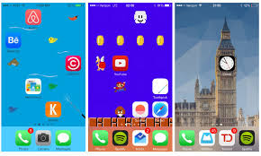 Iphone 5 Symbols On Top Bar Makeovr Web App Lets Iphone Users Create Blank Spaces On Home Screen