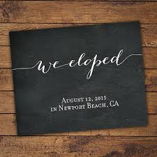 elopement announcements best 25 elopement announcement ideas on elopement eloped