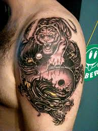 tiger dragon tattoo 14 best tattoos ever