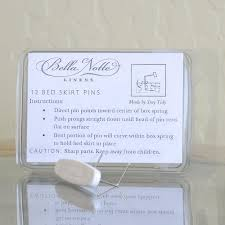 bed skirt pins paneled dust ruffles u0026 bed skirt pins bella