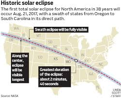 map of oregon to south carolina the best places to the great american eclipse