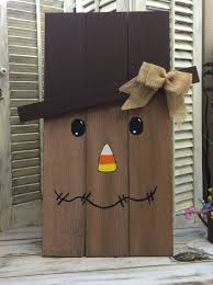 diy scarecrow made from cedar pickets scarecrows craft and wood