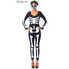 Maternity Skeleton Halloween Costumes by Glow In The Dark Skeleton Catsuit Halloween Costume