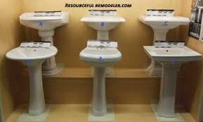 Bathroom Pedestal Sink Ideas Bathroom Sink Ideas And Sink Photo Gallery Resourceful Remodeler