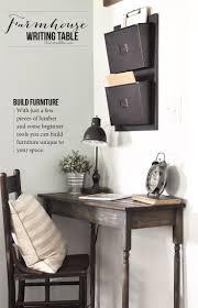best ideas about small corner desk pinterest white diy farmhouse writing table