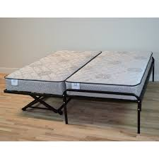 King Bed With Trundle Pop Up Trundle Bed Set Two Twins Make A King Size Bed When Popped
