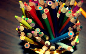 colorful pencils wallpapers wallpaper colored pencils set glass art hd picture image