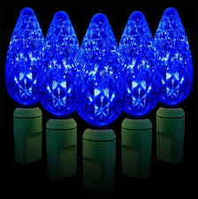 blue christmas lights c6 led christmas lights strawberry commercial led c6 lights