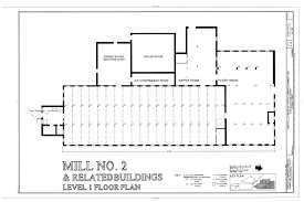 Machine Shop Floor Plan File Mill No 2 And Related Building Level 1 Floor Plan
