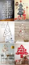 Christmas Wall Pictures by 25 Unique Christmas Tree On Wall Ideas On Pinterest Christmas