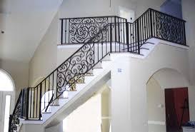 rod iron stair railing interior u2014 john robinson house decor rod
