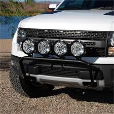 Ford Raptor Black - amazon com kc hilites 74281 2010 2013 ford raptor 4 tab front end