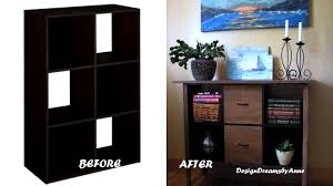 storage cube shelves designdreams by anne turn a cube storage piece into an amazing