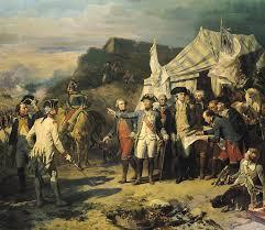siege of siege of yorktown painting by louis charles auguste couder