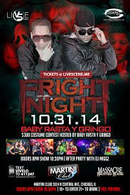 baby rasta y gringo chicago tickets the martini club on october