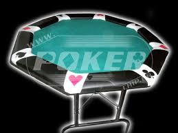 6 seat poker table 6 seat poker table with folding legs pokerchip