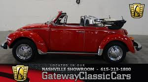 red volkswagen convertible 1976 volkswagen super beetle convertible gateway classic cars of