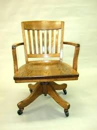vintage wood office chair oak office chair antique wooden desk chair on wheels fabulous oak office vintage wood office chair