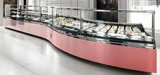 Muffin Display Cabinet Oscartek Food Service Display Cases Gelato Pastry And Deli