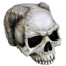 shop for statues of skulls zombies the macabre and horror movie